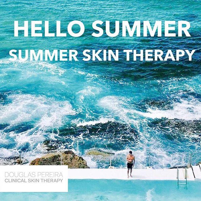 Summer skin therapy @dpclinicalskintherapy  #summerskin #skinhealth #skintherapy #skinsydneycbd #douglaspereiraclinicalskintherapy