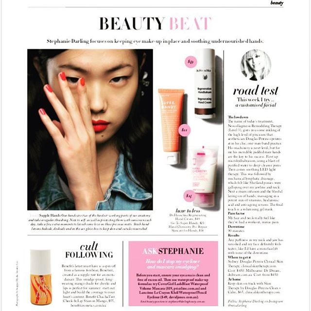 Treatment review by @mrssdarling in the smh #mrssdarling #neocollagenesis #skin  #dpclinicalskintherapy #skinhealth
