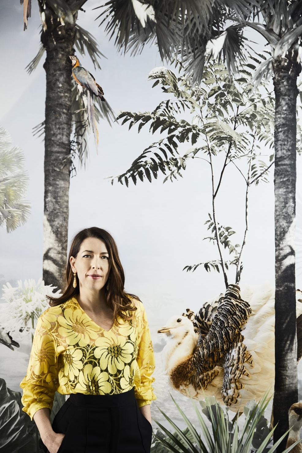 Kate Challis, Principal of Kate Challis Interiors. Portrait by Sharyn Cairns