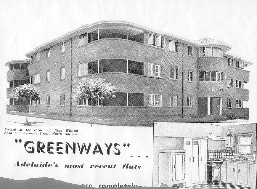 Greenways Flats, North Adelaide