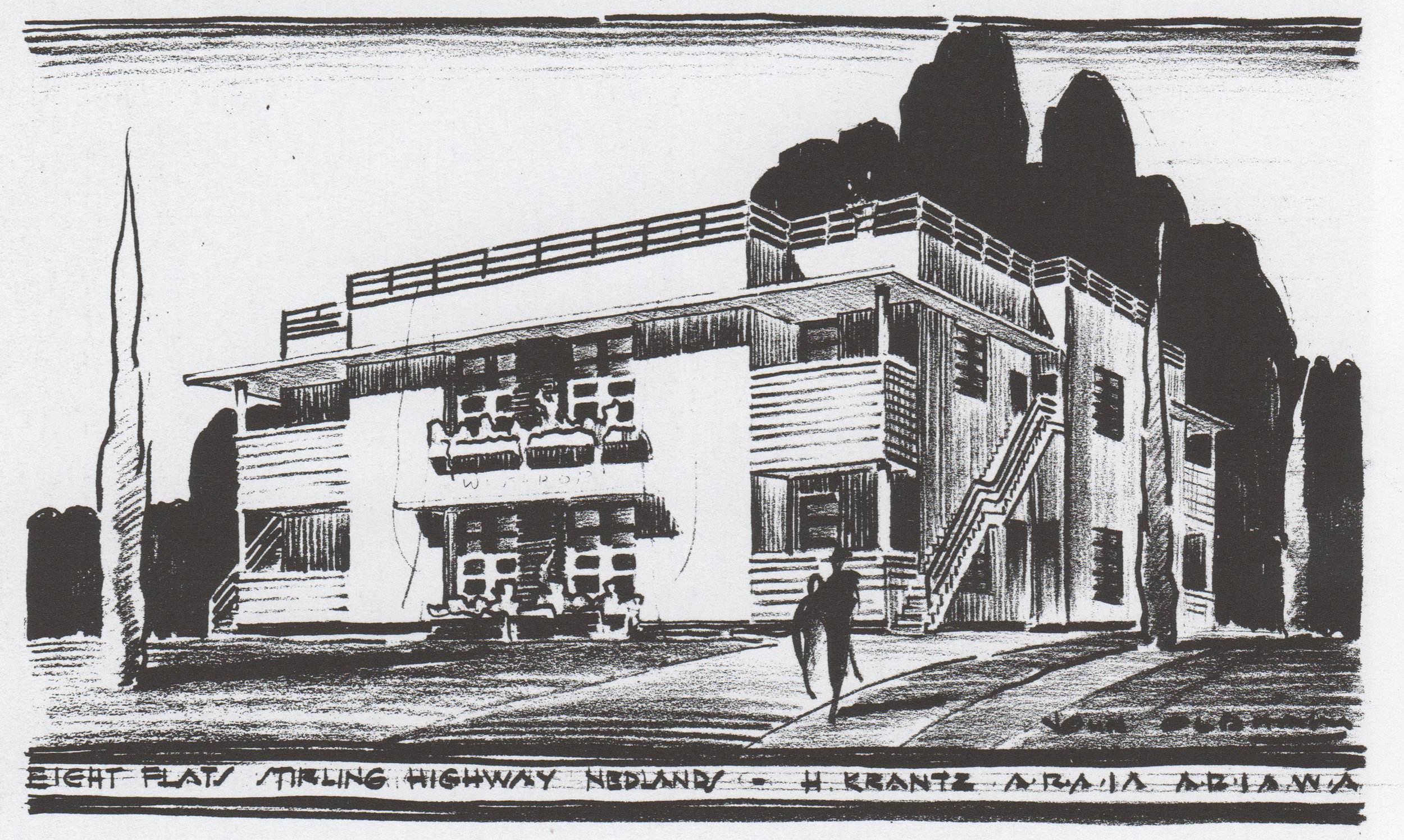 Varsity Flats, Stirling Highway, Nedlands