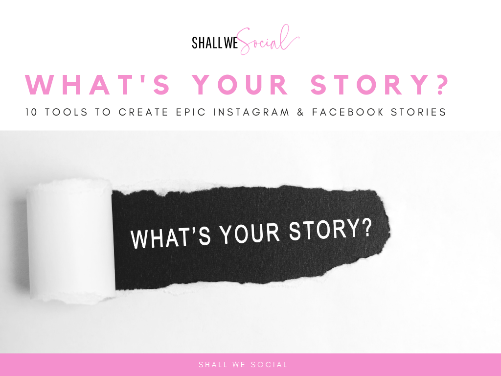 Get your free guide here - Start creating epic Stories