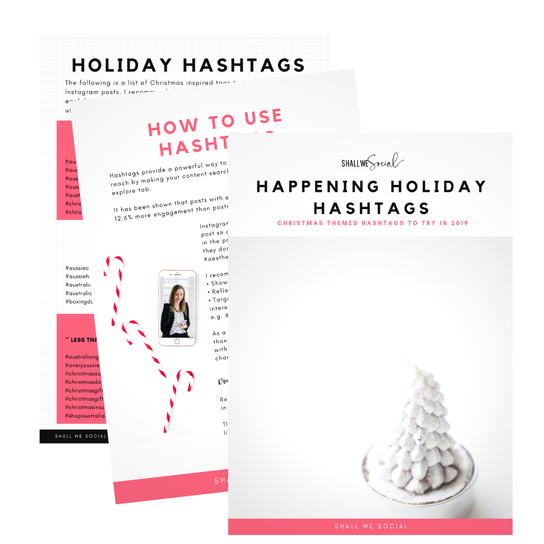 shall we social guide - Happening Holiday Hashtags