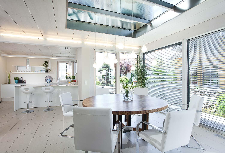 Inneneinrichtung Küche und Esszimmer