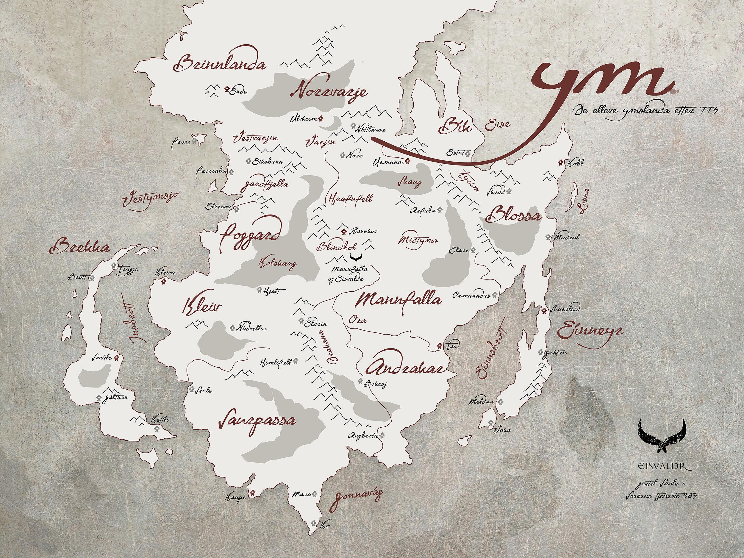 Map - Odin's Child