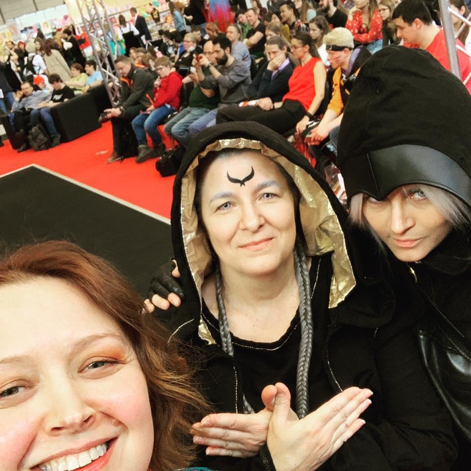 Raven Rings cosplayers in Leipzig