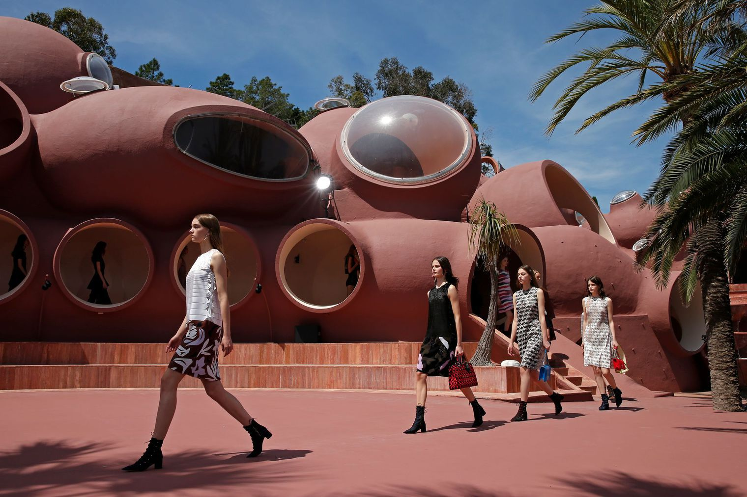 Dior Resort 2016 at Le Palais Bulles