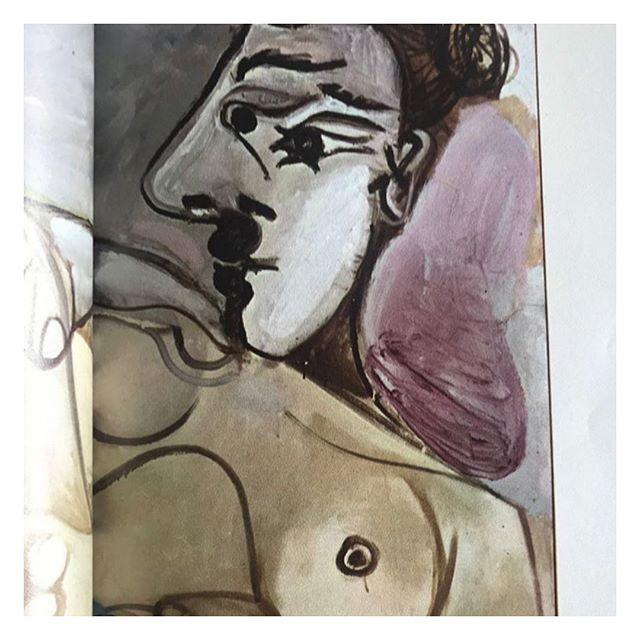 'La Pientre', Picasso, 1967 ✨ . . . #art #painting #picasso #contemporaryart #lifestyle #parisianstyle #vintagestyle #parisianchic #styledujour #theparisguru #detailsoftheday #simplebeyond #tenuedujour #vintagevibes #theparisianchique #laparisienne #lifestyleblogger #postfortheaesthetic #thevogueciel #visualdiary #moodboard