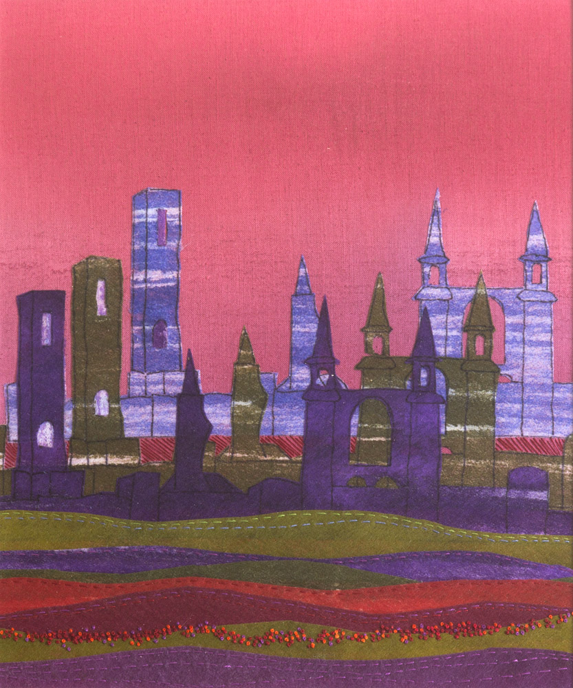 Dreaming Towers - 63 x 56 cm £295