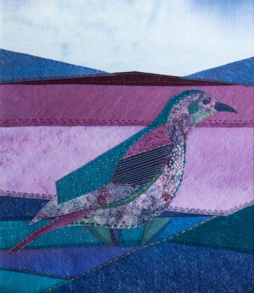 Bird - 53 x 48 cm £175 (Sold at Dundee Art Fair)