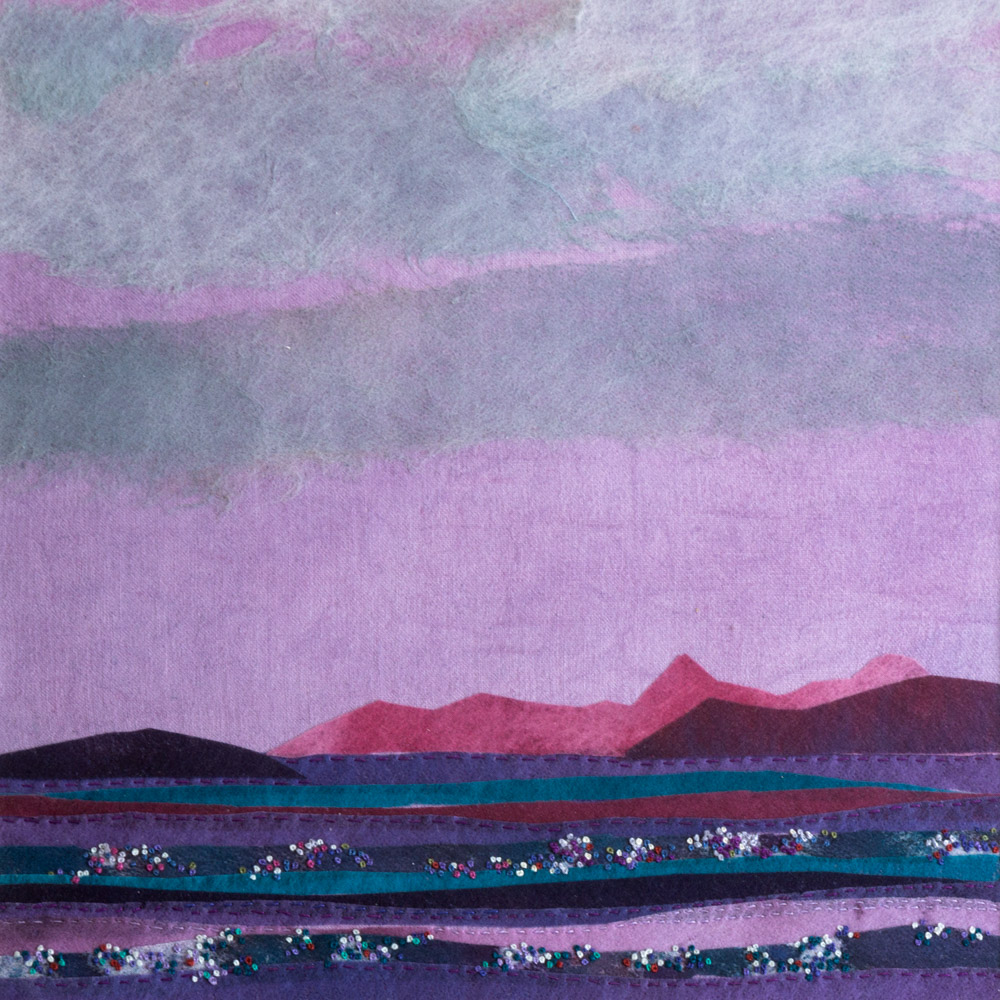 Remembered Images of Skye - 50 x 50 cm £295
