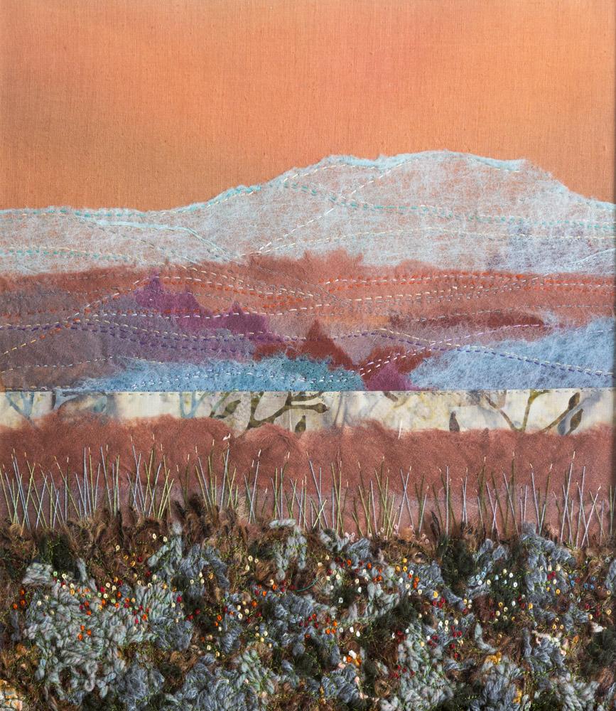 Autumn Hills - 52 x 52 cm £295