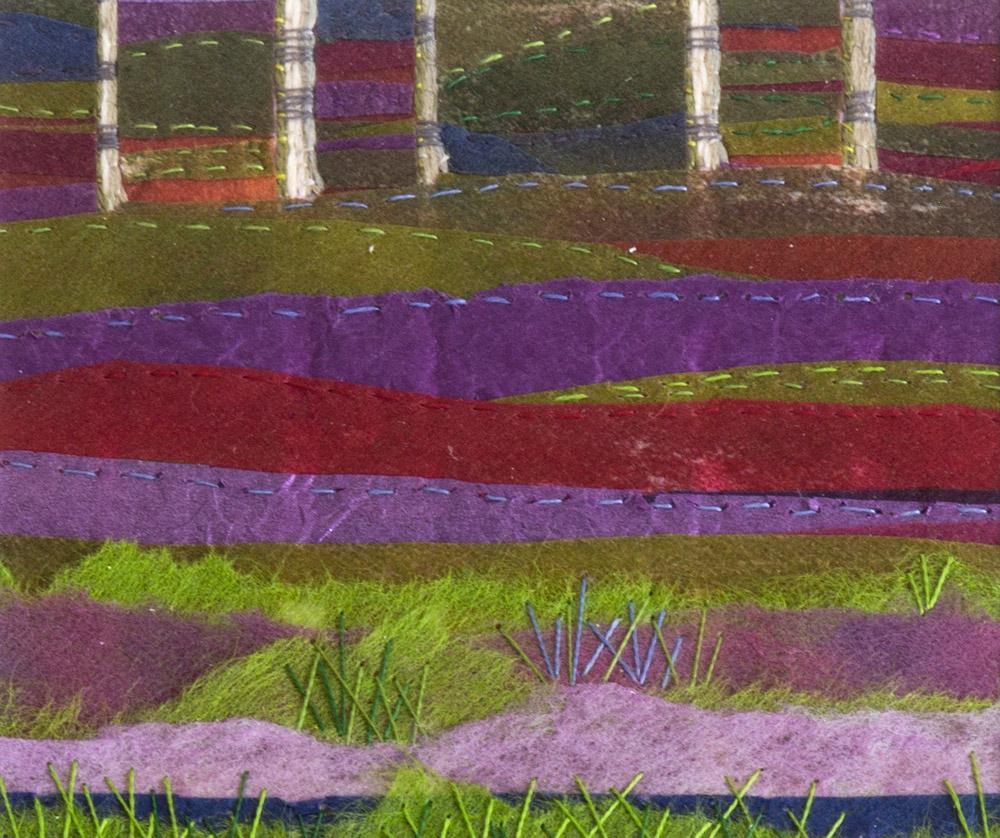 Bog Birches - 25 x 25 cm £65