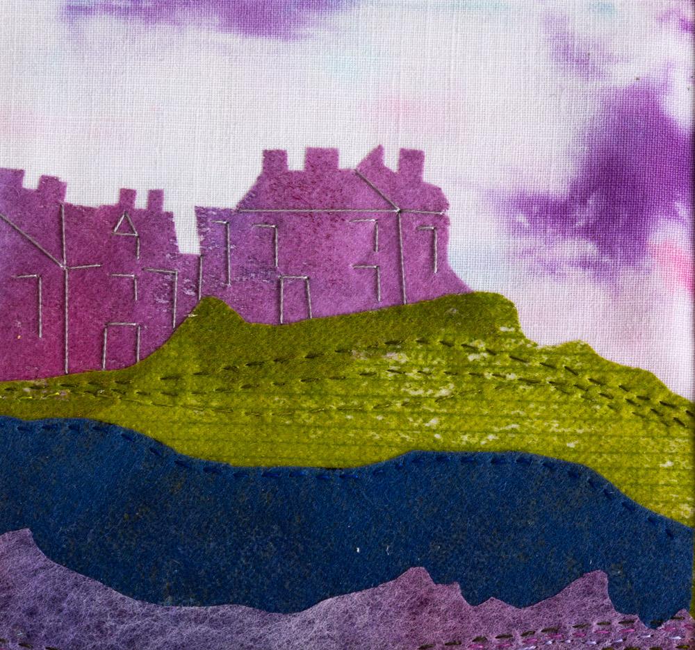 Cliff Terrace - 25 x 25 cm £65