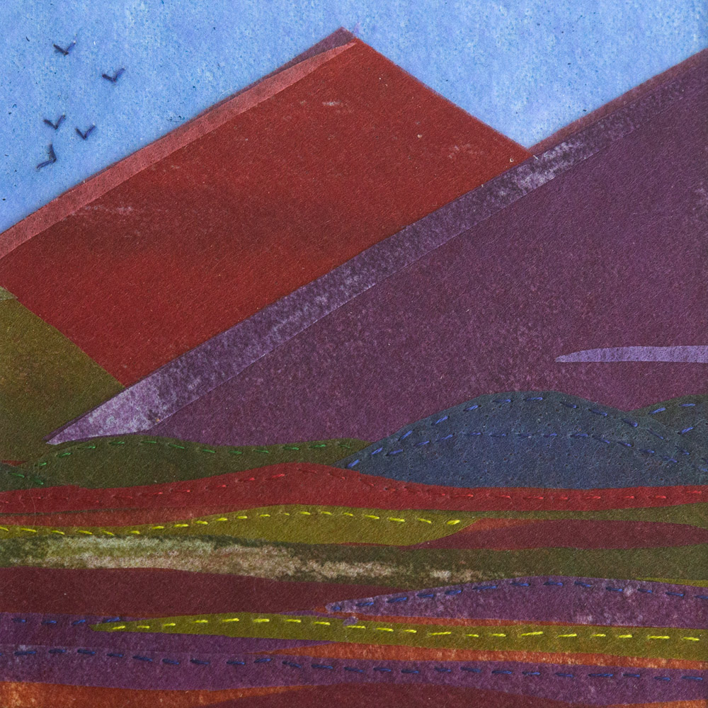 Red Mountains I - 25 x 25 cm £65