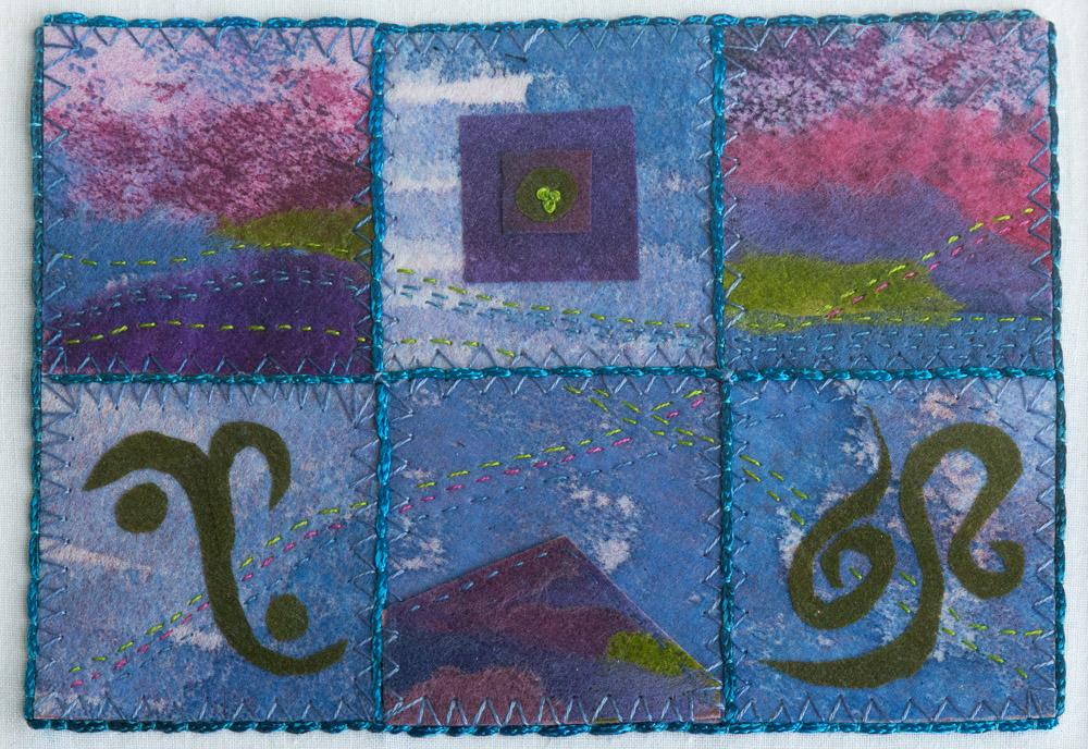 Celtic Mountain - 30 x 35 cm £125