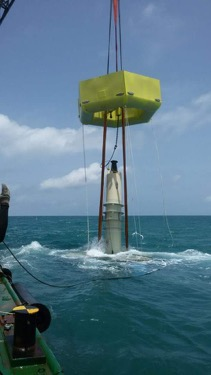 The Ada Foah Pilot in Ghana - In 2016, Seabased successfully completed a demonstration wave power park just south of Ada, Ghana, for TC's Energy. This became Africa's first wave power park, and the start of what is intended to be a large commercial wave power park along the coast of Ghana.A primary purpose of the demonstration was to learn how to quickly and economically scale up assembly and installation. Seabased and TC's Energy wanted to explore what aspects of assembly, testing and installation could be done in Ghana, and what circumstances or conditions make this efficient in terms of quality, price and speed, so these lessons could be applied to the utility scale wave park.Seabased was responsible for supplying a complete wave power park consisting of 6 L12 Wave Energy Converters (WEC), one connection hub, a land switchgear and the sea cable. Seabased's responsibility included design, manufacture or procurement, and delivery to Ghana, as well as supervision of installation and testing.