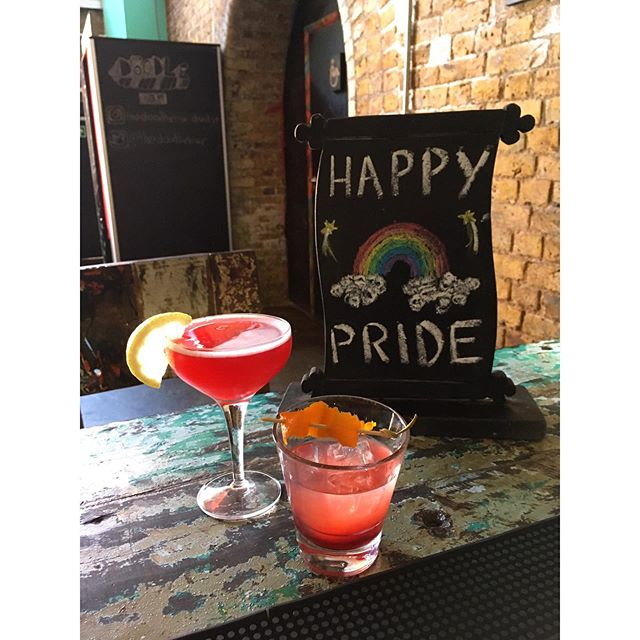 Happy Pride 🏳️‍🌈 from all of us here at The Doodle Bar. Why not join us for a cocktail or two this weekend to celebrate in style 🍸
