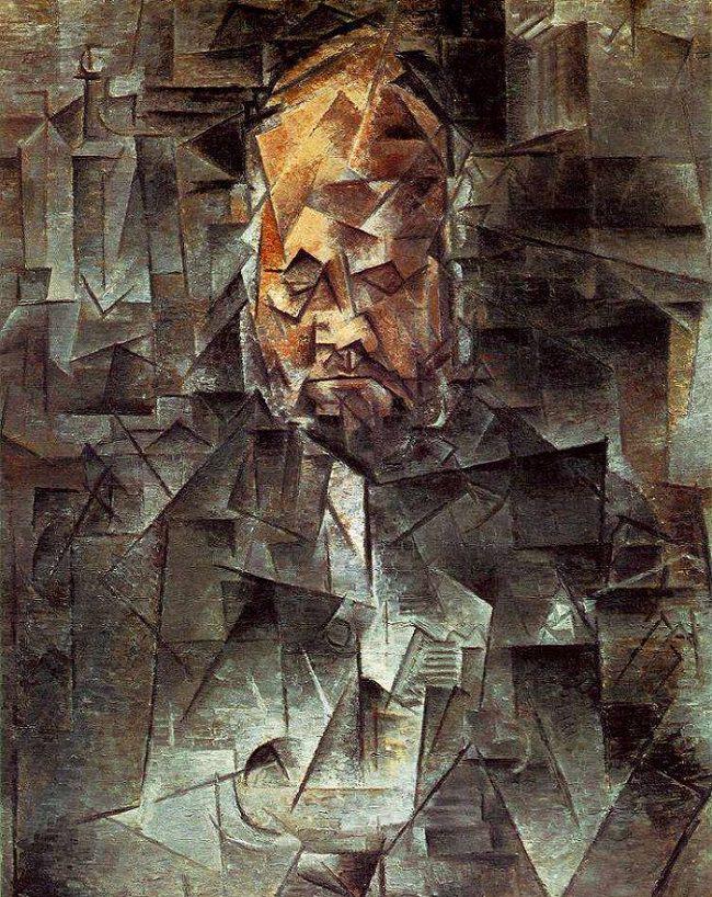 Pablo Picasso., Portrait Of Ambroise Vollard, 1910