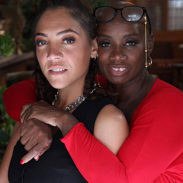 On my way to  #cheltenhamliteraturefestival for a reading of #MyNameIsWhy (Sold Out) but equally excited to meet these two fierce women in a TV interview on their show on @skyarts  Andi Oliver @miquitaoliver  @storyvaultfilms