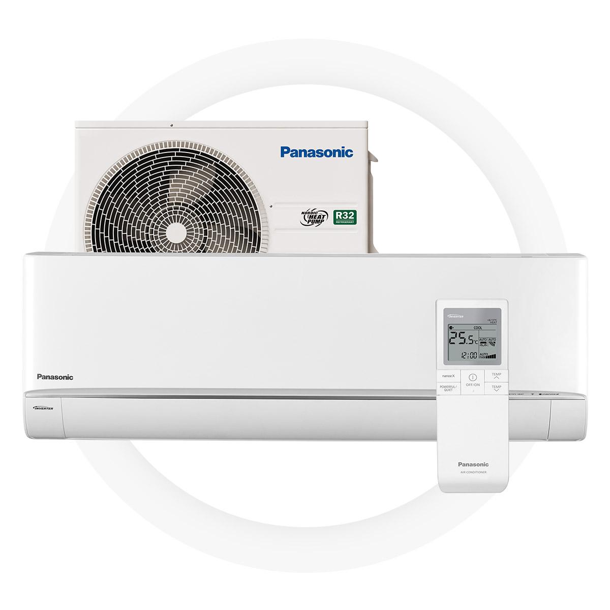 NYA Panasonic hz25uke - Bästa effektiviteten i sin klass – SCOP- värde på 5,38 garanterar stora besparingarA+++ energieffektivitetHögsta värmekapacitet i sin klass – 7,3 kWFungerar även vid en utomhustemperatur på -35°C Ren luft med nanoe™ X filteringssystemOtroligt tyst arbetsläge – bara 18 dB5 års full fabriksgaranti från Panasonic