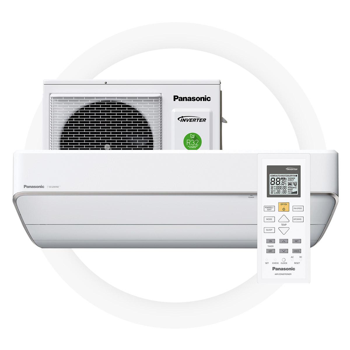 Panasonic lz25-TKE - Högt SCOP - värde på 5,0 ger stora besparingarA++ energieffektivitetEffektiv och pålitligt även vid en utomhustemperatur på -35°COtroligt tyst arbetsläge – bara 18 dB5 års full fabriksgaranti från Panasonic
