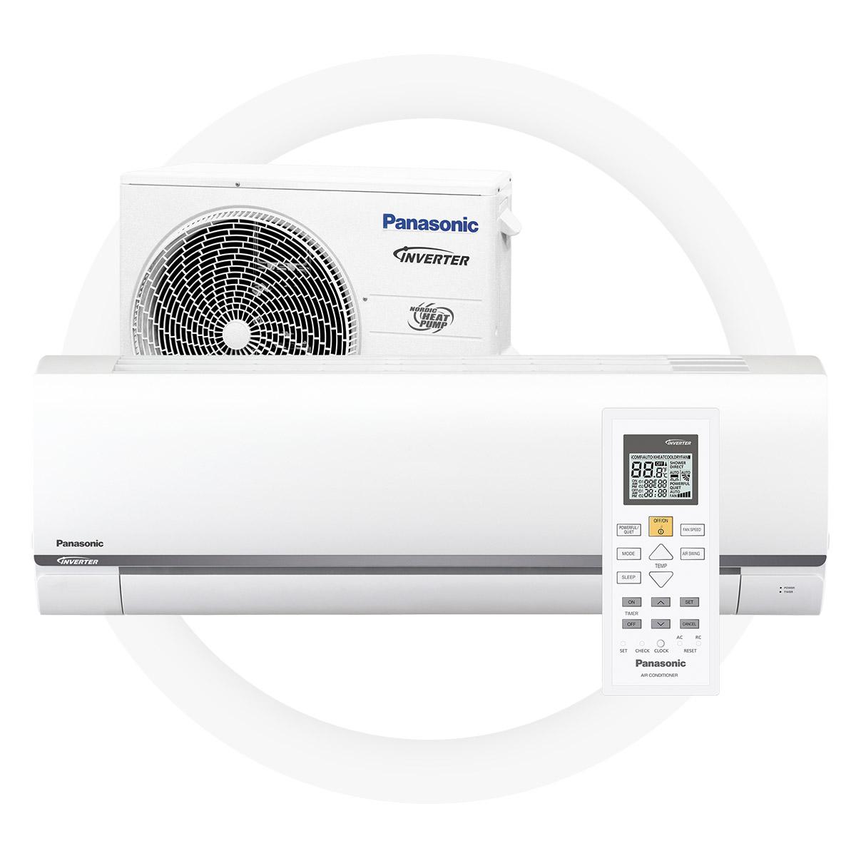 Panasonic cz25-tke - Bra SCOP-värde på 4,1 ger stora besparingarHög energieffektivitet vid uppvärmning – A++l+8/+15°C läge för underhållsvärmeTyst arbetsläge – 21 dBMiljövänligt R32 kylmedel5 års full fabriksgaranti från Panasonic