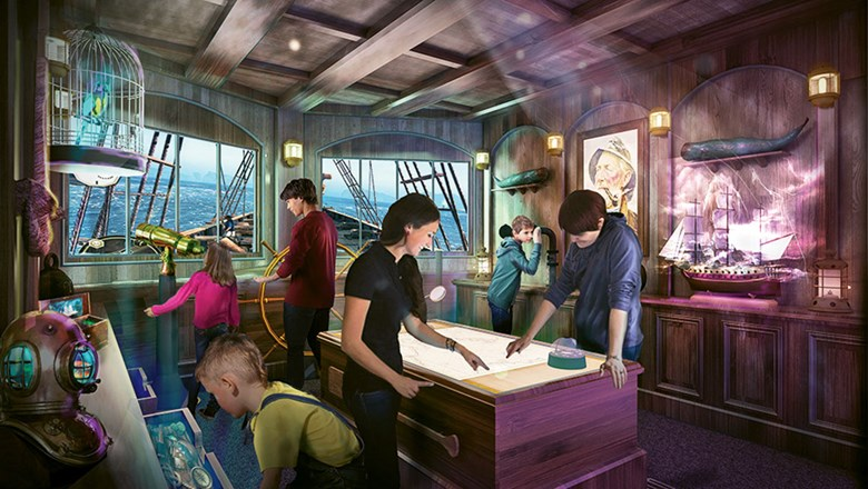 MediaScape™ - Princess Cruses is opening Phantom Bridge MediaScape™ Room in Dec 2019. Connective Results can help you purchase this one-of-a-kind gamified real life experience for your guests to enjoy.