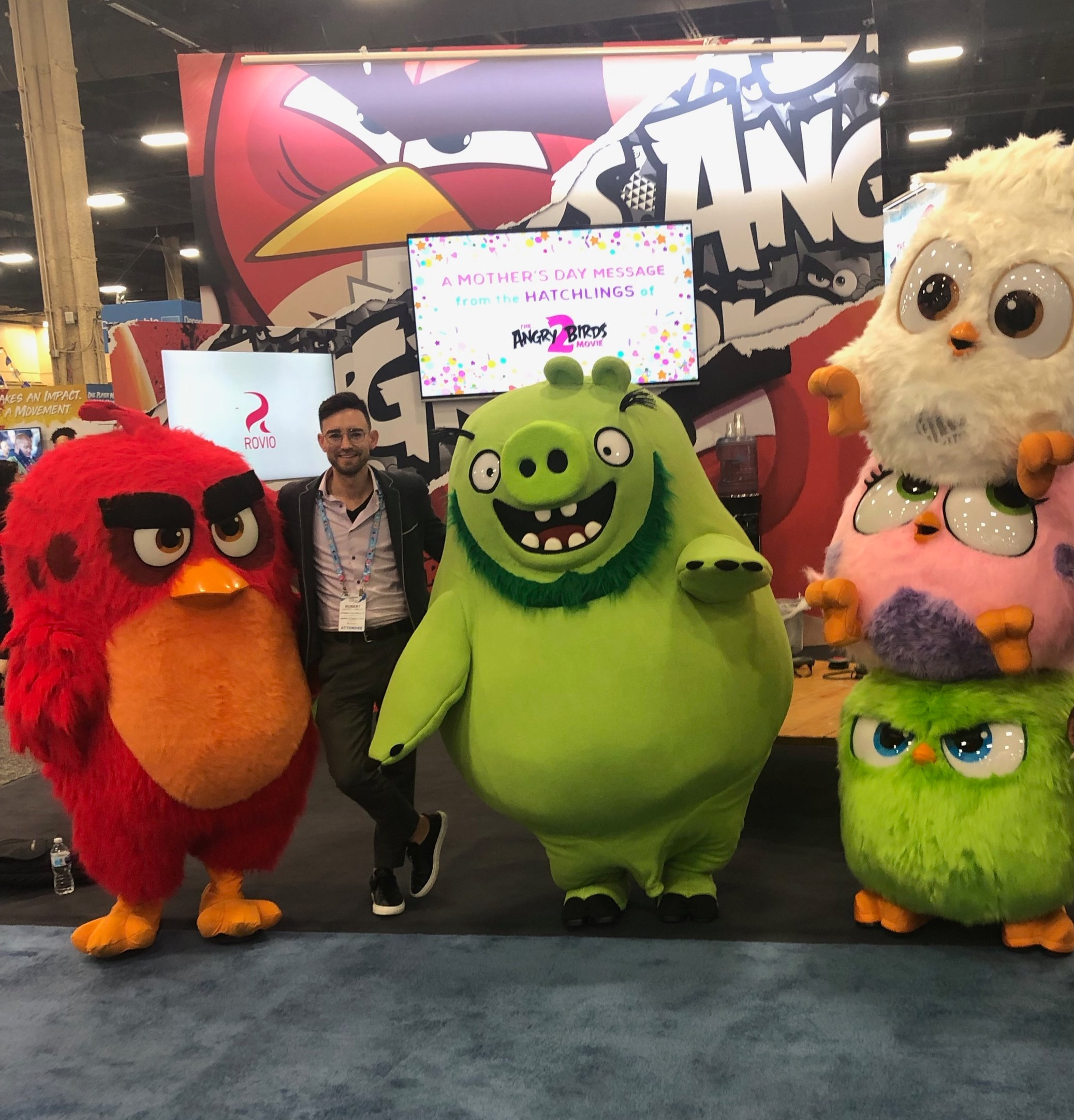LICENSING EXPO 2019 - The Licensing Expo allows us the opportunity to meet with new and former clients to discuss potential LBE opportunities. Lookout for exciting announcements in the near future.