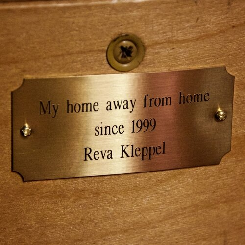 Memorial plaques make great gifts -