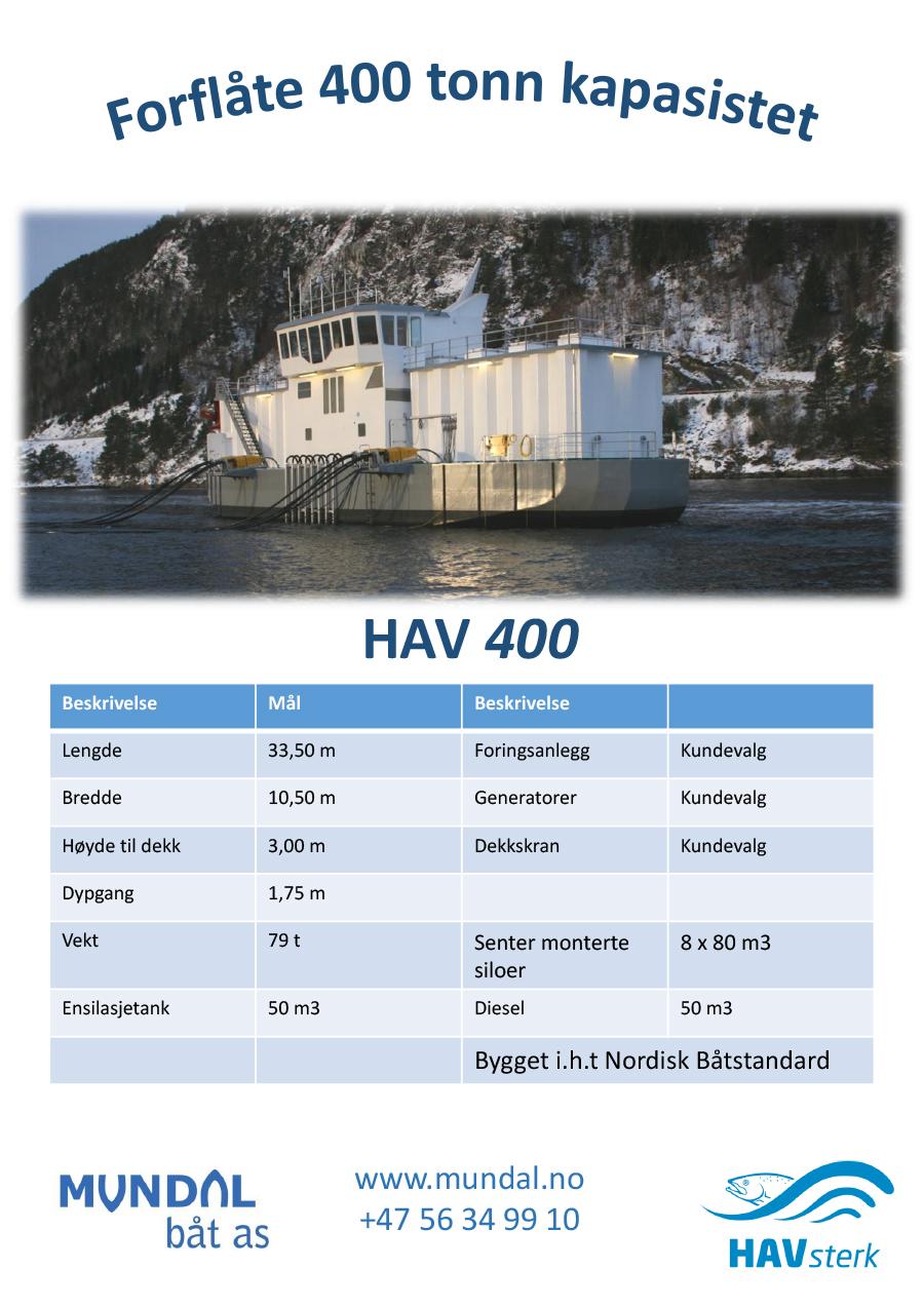 HAVFEED 400