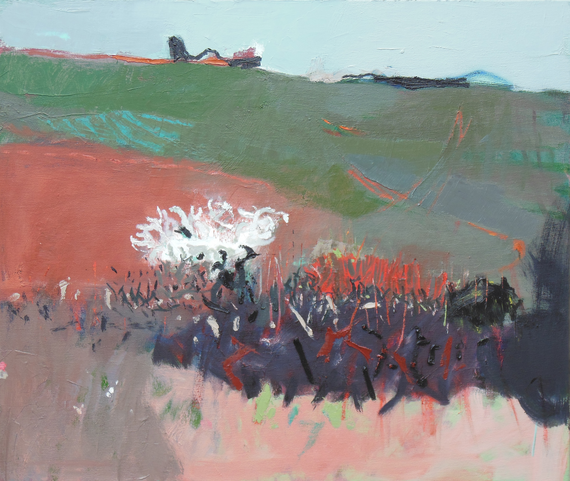 Early Spring North Oxfordshire 11am, oil on canvas, 600mm x 700mm web.jpg