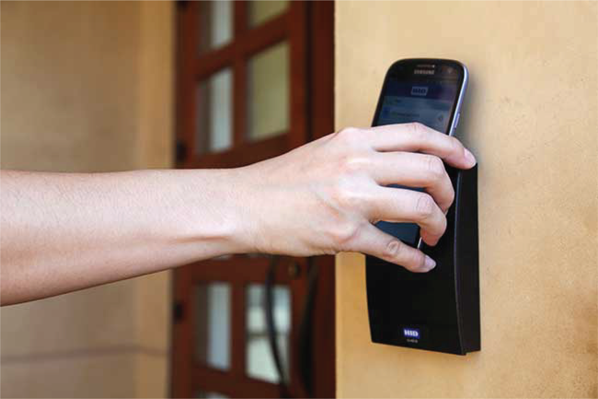 Electronic Access Control - Remotely lock or unlock your doors from your phone, give family members individual access codes, and get notifications whenever a door is accidentally left unlocked.