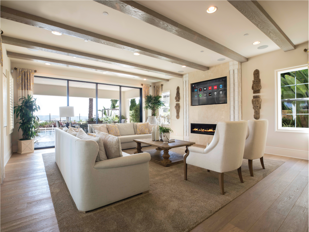 Beautifully designed to match your home. - From our full home theaters to our house-wide speakers, everything we do fits perfectly with the design of your home. No wires, no eyesores.
