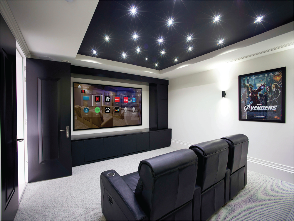 The home theater you've always wanted. - We handle every aspect of your new home theater – from specialized premium loungers to acoustic room treatments and everything in between.