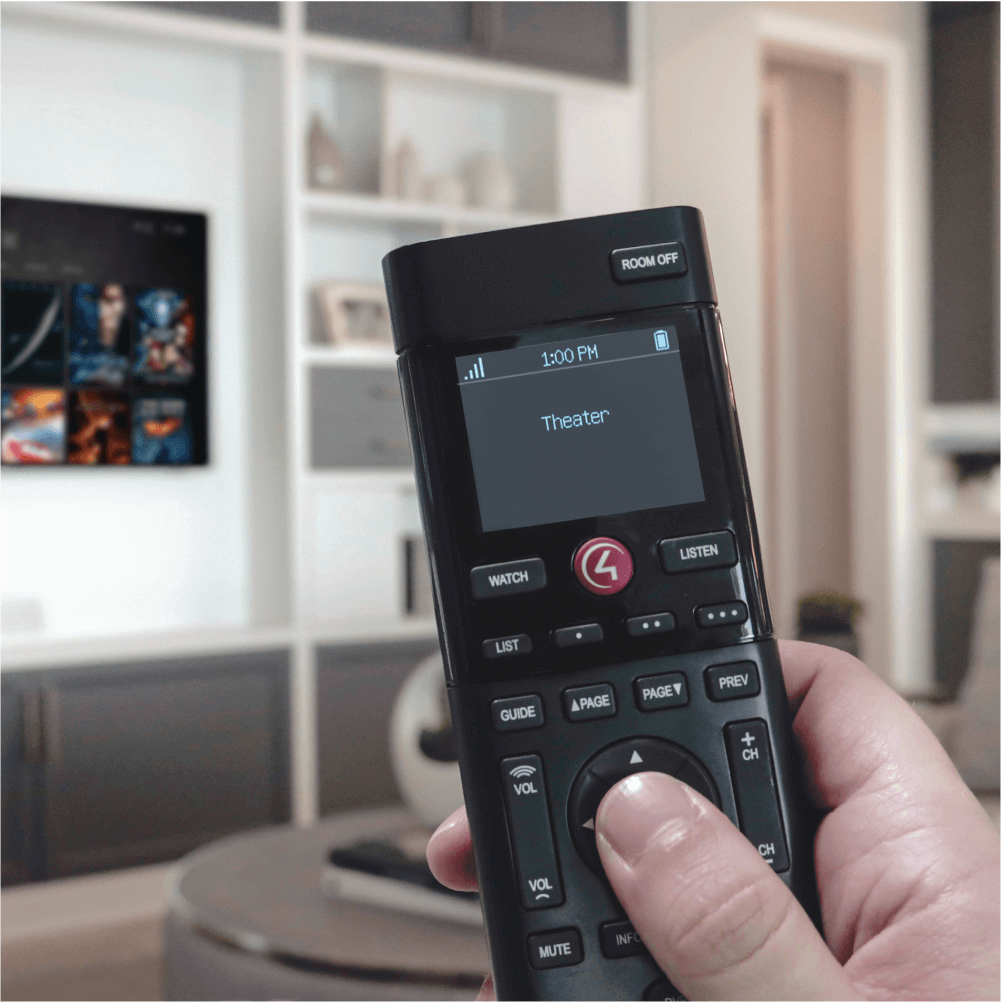 One remote for all your entertainment. - Never switch remotes again. Consolidate all of your video sources, from the Blue-Ray player to the cable box. Less clutter, less hassle.