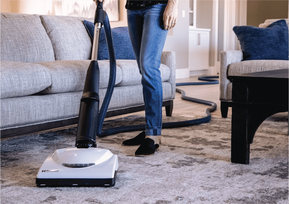 Remove dust and allergens from your home. - Traditional vacuums collect dust and allergens which sit in your trash and filter into your air. A central vacuum prevents this by sending 100% of vacuumed material out of your home.