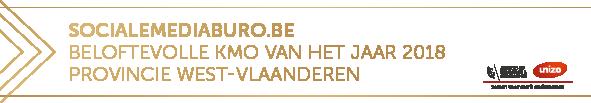 Socialemediaburo.be is Beloftevolle KMO 2018 (award van Unizo)