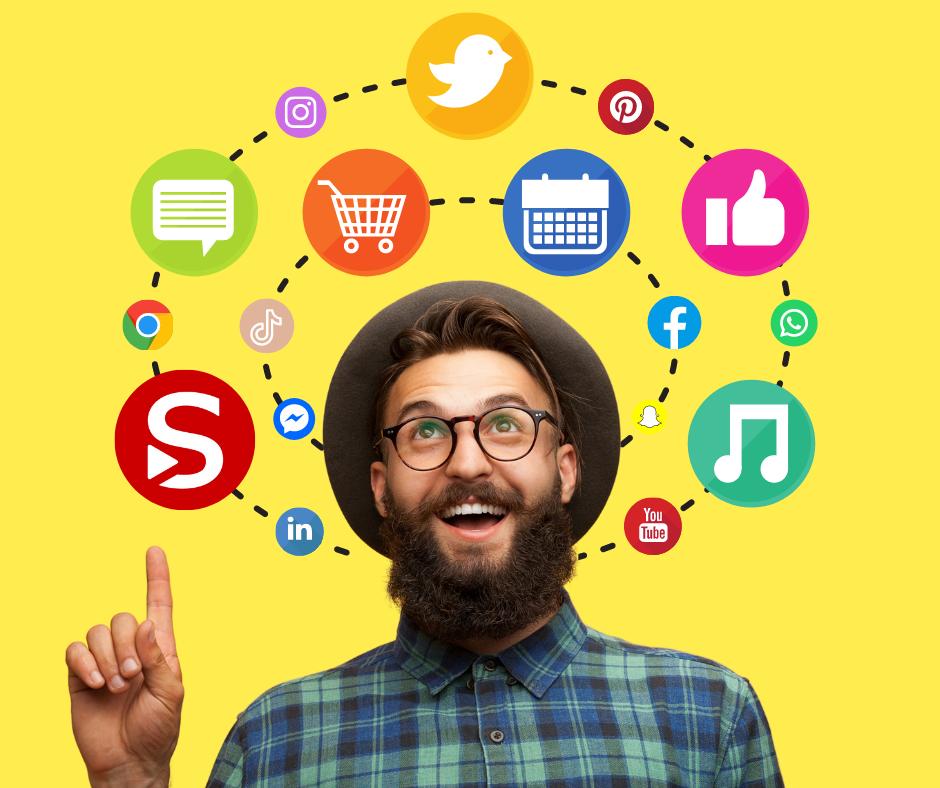 Hoe leer ik bij over sociale media?