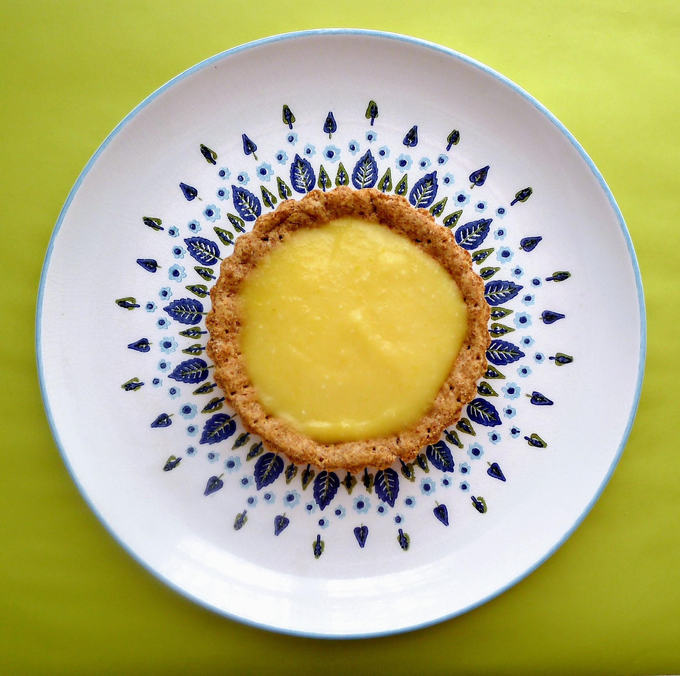Lemon Ginger Whole Wheat Tartlets