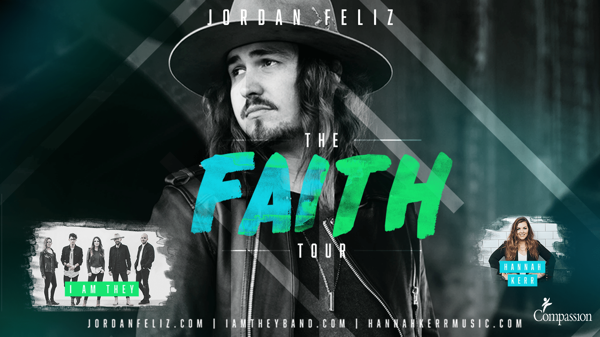 Oct. 11th - 7 p.m. - You are welcome to join us for The Faith Tour of Jordan Feliz at Concord Baptist Church, Anderson SC
