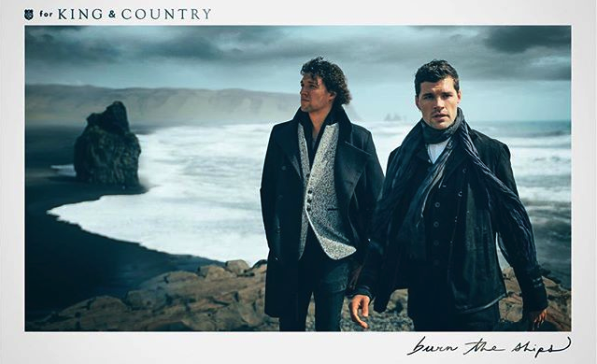 Nov. 24th - 7 p.m. - Please come join us in Greenville, SC to see King & Country at the Bon Secours Wellness Arena. Call for tickets.