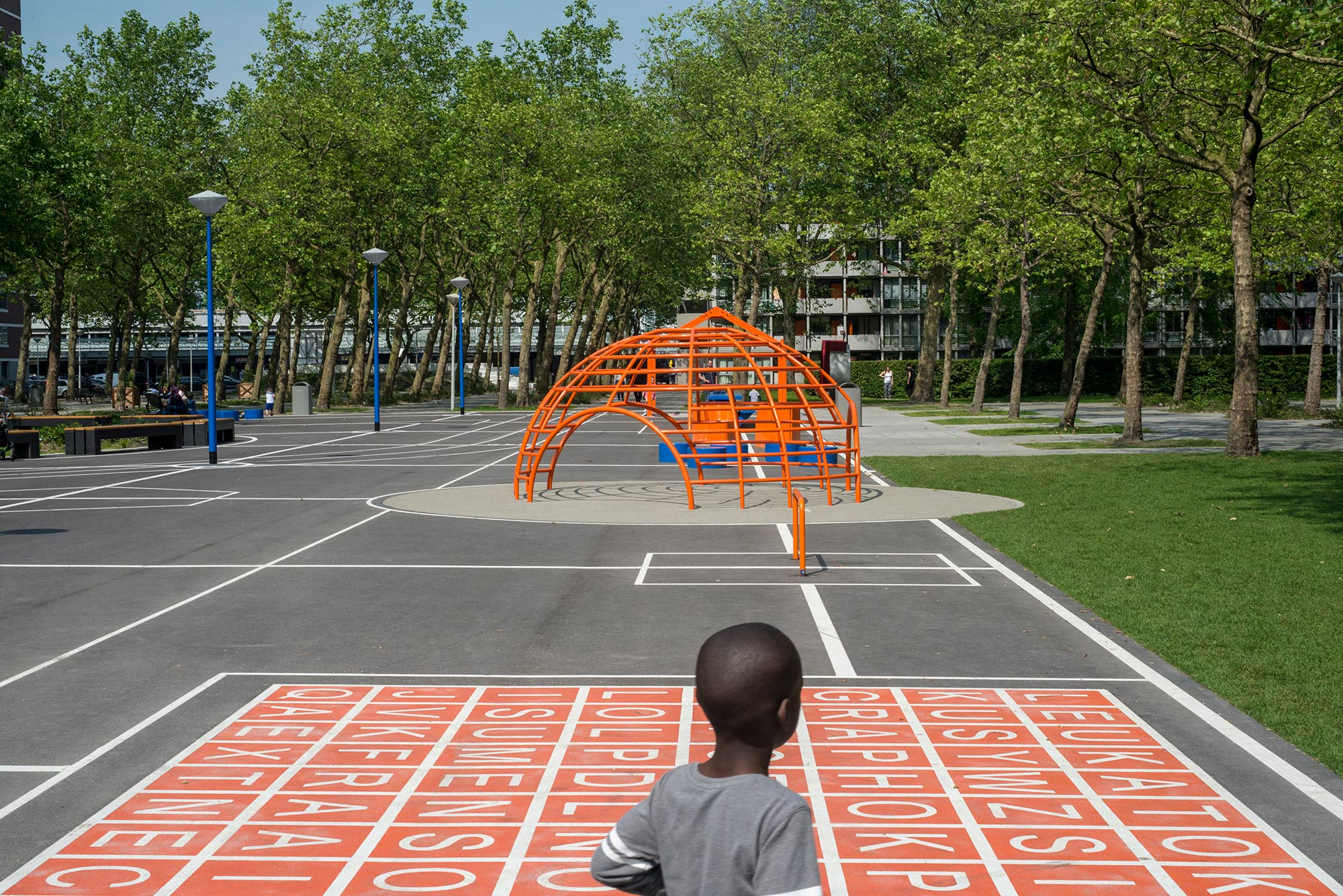 Breedveld Plan van Gool Amsterdam Noord Aldo van Eyck climbing frame