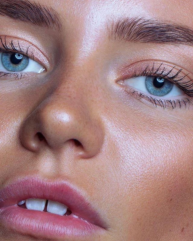 Close-up of beautiful ✨@vilderiise✨  — #photography #closeup #beauty #macro #eyes #lips #beautyretouch