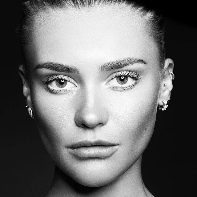 @vilderiise ✨ — #bw #portrait #beauty #model #beautyportait #photography
