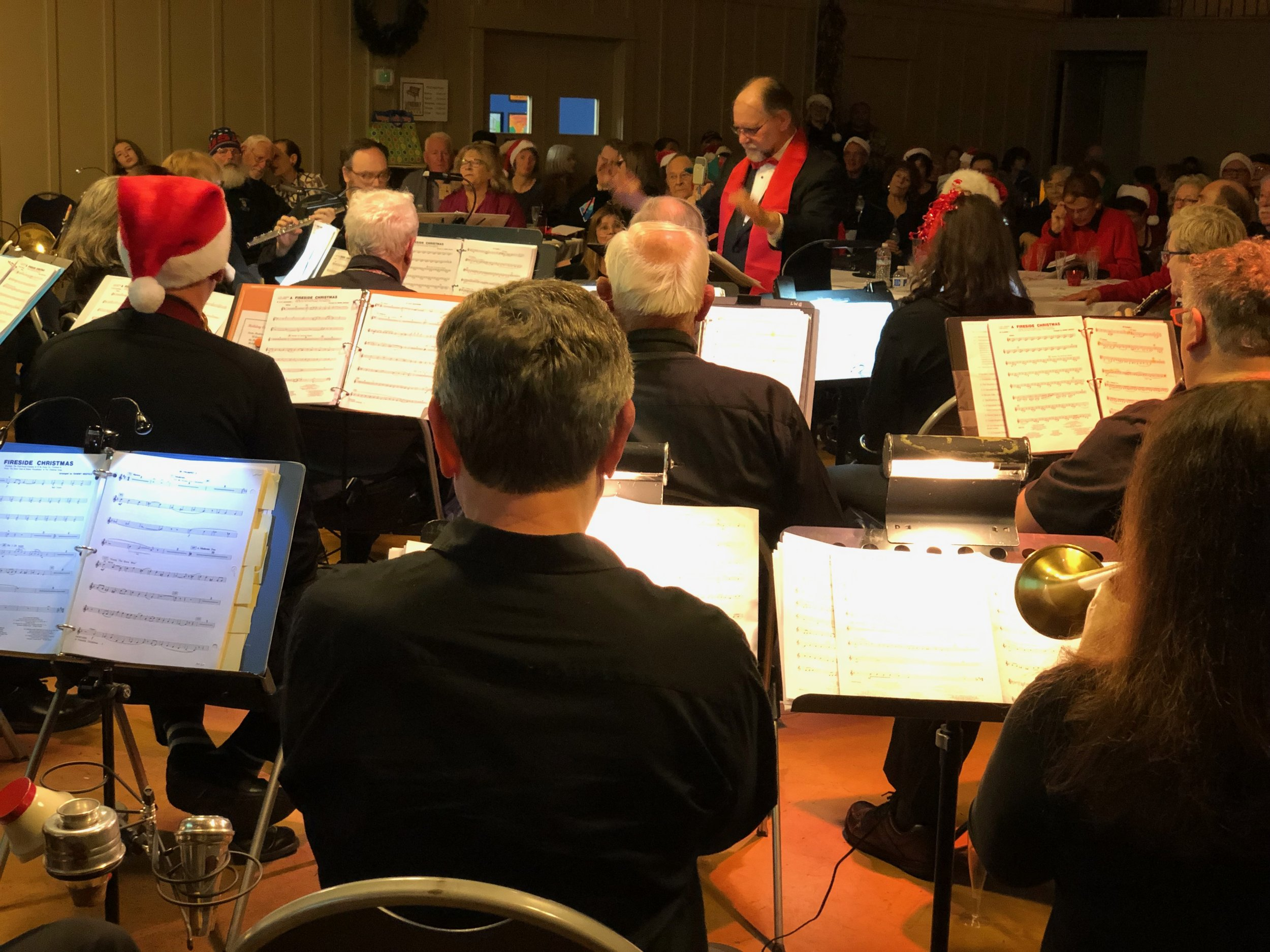 2018 Holiday Concert - The band's annual Holiday Concert left us with standing room only at the Corte Madera Community Center.