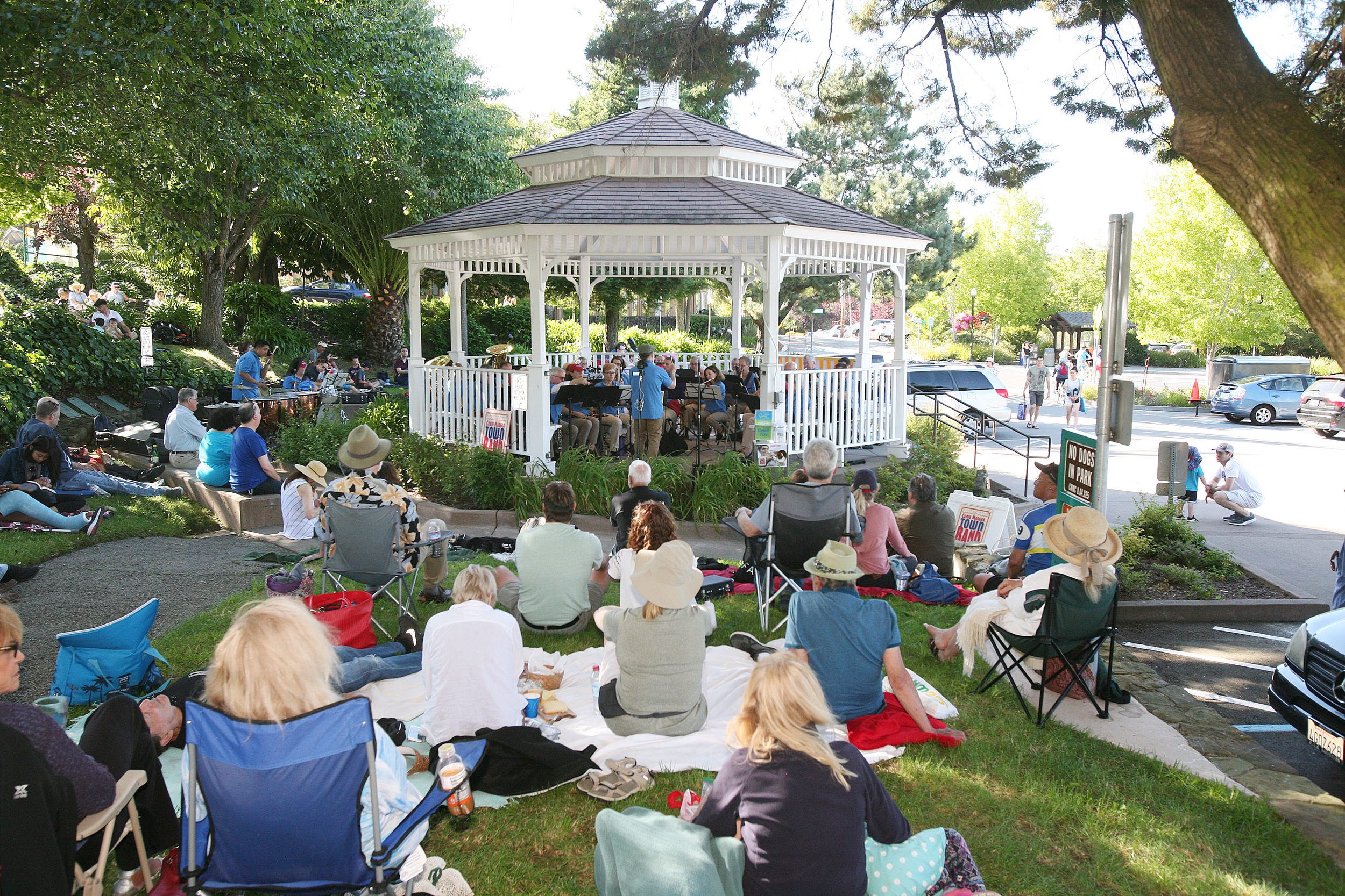 2019 Summer Concert - It was a beautiful day in the park and the music was lovely…