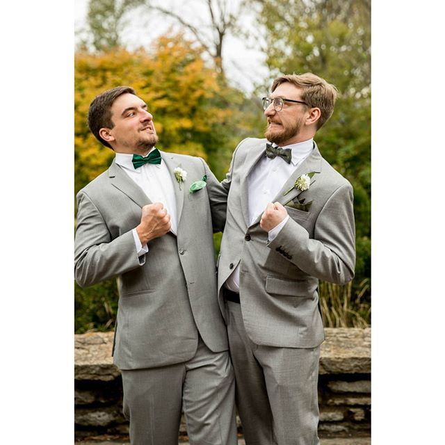 Buddies. Pals. Arch rivals. Brothers. Ain't that how it goes?  #cincinnatiweddingphotographer #ido #bestman #groom #bridalinspiration #weddingday #weddingphotography #funweddingmoments #wedding
