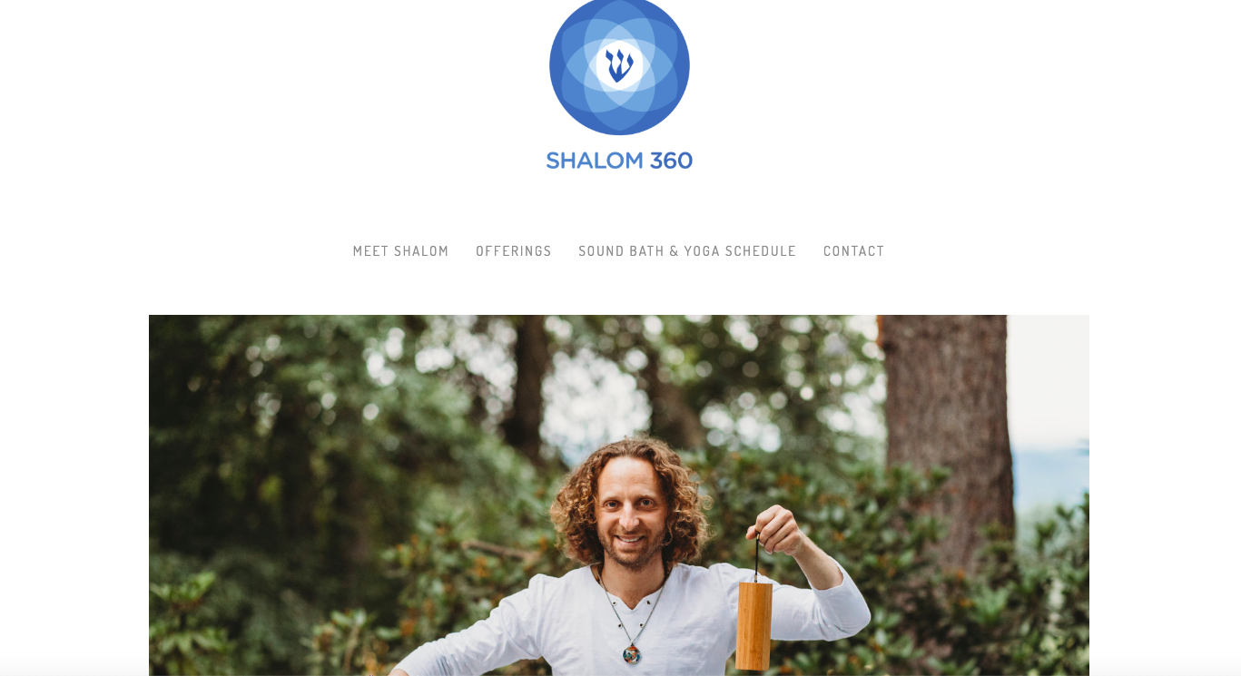 SHALOM 360 website strategy & tune-up - content curation - messaging & digital branding - social media - email campaigns - marketing & business plan
