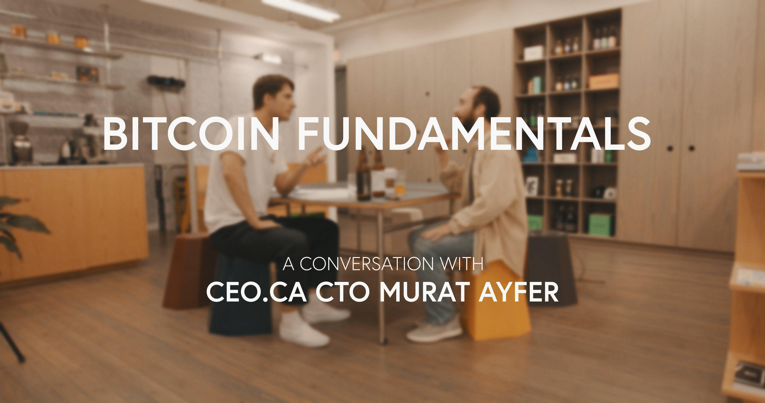 I sit down with Murat Ayfer, CTO of CEO.ca. Murat clearly and concisely explains the key fundamentals driving value into the Bitcoin network.